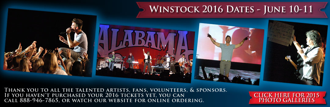 Winstock '15 Lineup Announcement
